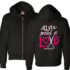 Hey, I found this really awesome Etsy listing at https://www.etsy.com/listing/173019129/all-you-need-is-love-hoodie-zip