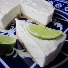 Foto recept: Kwarktaart met limoen