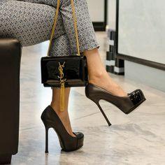 Yves Saint Laurent on Pinterest | Saint Laurent Sale, Women Bags ...