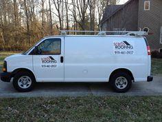 Scro's Roofing: Van