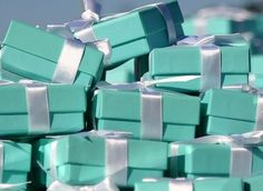 My husband wanted to know what Tiffany Blue is. THIS, is Tiffany blue :)