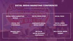 Top 9 Digital Marketing Conferences on Social Media Marketing