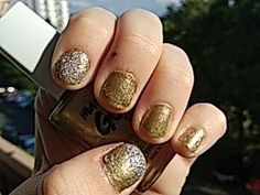 #gold#silver#nails#2018#bright