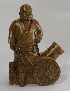 #Ceramic Bottle  http://www.japanstuff.biz/ BUY IT :  http://www.delcampe.net/page/item/id,0336947463,language,E.html