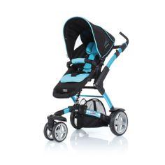 La ninio.ro puteti gasi: Carucior ABC Design 3-Tec Albastru cu sasiu cu sezut sport din aluminiu. beneficiaza de o suspensie centrala, asezata chiar sub scaunul copilului, atingand o eficienta maxima in atenuarea socurilor.