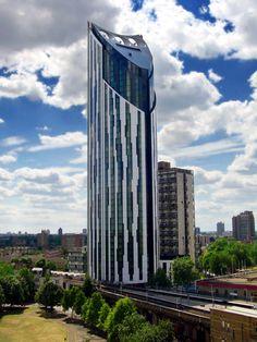 Strata Building, Elephant, London UK
