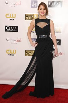 jennifer lawrence fashion style | jennifer lawrence took home two awards and our hearts in this sexy ...