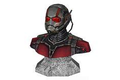 Marvel Comics - Ant-Man Bust Ver.2 Free Papercraft Download - http://www.papercraftsquare.com/marvel-comics-ant-man-bust-ver-2-free-papercraft-download.html#AntMan, #Bust, #MarvelComics