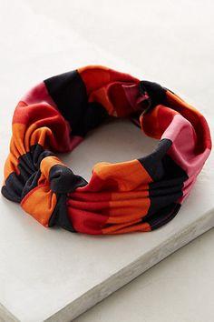 Silk Stripe Turban Band #anthropologie