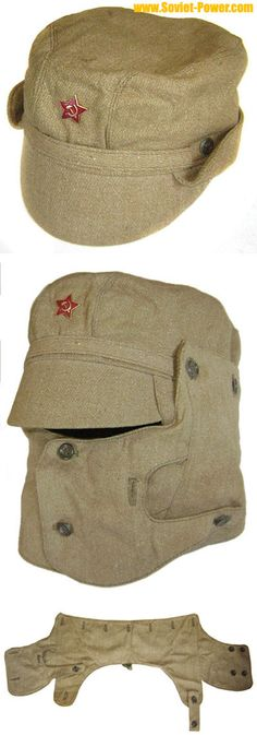 Soviet Military AFGHANISTAN war cap with mask