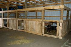 Image result for barn stall goat