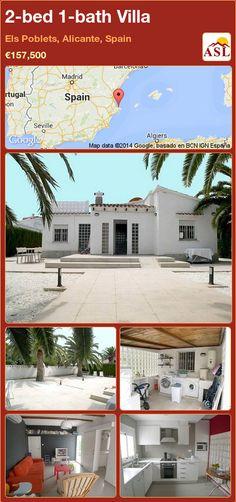 2-bed 1-bath Villa in Els Poblets, Alicante, Spain ►€157,500 #PropertyForSaleInSpain
