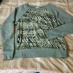 Grey shirt Size medium juniors. Great fit  (: Converse Sweaters Crew & Scoop Necks
