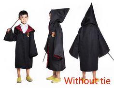 Harry Potter Robe Gryffindor Cosplay Halloween Children Costume