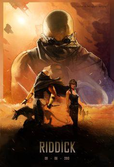 Riddick III by ~GEFAHRLICH on deviantART