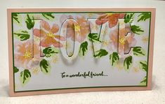Love by - Cards and Paper Crafts at Splitcoaststampers Love Cards, Paper Cards, Stampin Up, Card Ideas, Crafts, Painting, Manualidades, Painting Art, Stamping Up