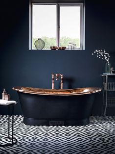 black bathroom ideas maison valentina luxury bathrooms bathroom color 10 Bathroom Color Schemes for Embellish your Decor Brown Bathroom, Grey Bathrooms, Beautiful Bathrooms, Small Bathroom, Bathroom Ideas, Luxury Bathrooms, Charcoal Bathroom, Copper Bathroom, Bathroom Photos