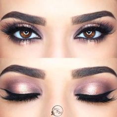 Eye Colors Guide And 30 Best Makeup Ideas For Them Best Eyeshadow Color For Brown Eyes picture 1 Eye make up for red Super Basic Eye Purple Smokey Eye Make Wedding Guest Makeup, Wedding Makeup For Brown Eyes, Wedding Makeup Tips, Bride Makeup, Best Eyeshadow For Brown Eyes, Eye Makeup Steps, Smokey Eye Makeup, Smoky Eye, Red Eyeliner