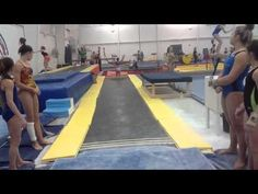 Front Layouts and twisting Gymnastics Academy, Gymnastics Floor, Gymnastics Skills, Gymnastics Videos, Gymnastics Coaching, Gymnastics Training, Gymnastics Workout, Gymnastics Stuff, Tumbling Gymnastics
