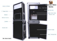 Black, Road Case Style Photo Booth For Sale US $1,899.00 | eBay