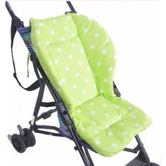 Baby Thickness Dot Print Stroller Cushion Child Cart Seat Cushion Cotton Thick Mat Stroller Accessories Infant Car Pad Hi Mommy! - All Discounted Baby Stuff. #babyproducts  #babycare