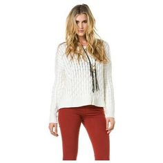 Bb Dakota Laurine Cable Knit Sweater (Sweaters)
