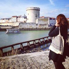 Le sac ChEEk fait un petit saut à La Rochelle
