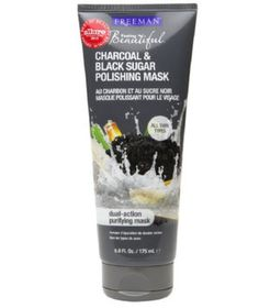 Do your pores drive you crazy? Though you can't alter their size (they, unfortunately, get larger with age), you can make them appear smaller by keeping them clean. This face mask contains charcoal to absorb dirt and oil as well as black sugar to exfoliate.