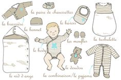 How many baby pajamas and bodysuits are needed before birth and at what size? - How many baby pajamas and bodysuits are needed before birth and at what size? First Baby, Mom And Baby, Ho Baby, Baby Wish List, Baby Couture, Baby Swings, Baby Boom, Montessori Activities, Baby Coming