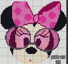 Cross Stitch Pattern Maker, Cross Stitch Charts, Cross Stitch Patterns, Cross Stitching, Cross Stitch Embroidery, Hama Disney, Tapestry Crochet Patterns, Stitch Cartoon, Donia