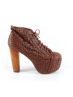 Check it out—Havana Last Jeffrey Campbell Heels for $60.99 at thredUP! Brown Heels, Jeffrey Campbell, Havana, Sale Items, Peep Toe, Check, Shoes, Women, Fashion