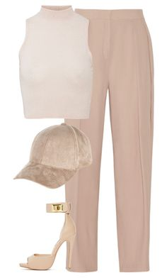 """""""Untitled #6368"""" by heynathalie ❤ liked on Polyvore featuring By Malene Birger, River Island and Steve Madden"""
