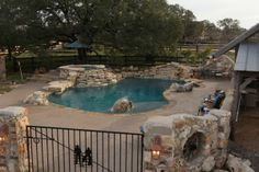Freeform Pool And Spa | Water Feature | Texas Pools And Patios Spa Water,  Outdoor