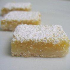 Take a look at Passover Lemon Bars