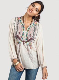 Boho Skyla Blouse   Bohemian Fall Fashion