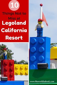 10 Things Not to Miss at Legoland California Resort - The World Is A Book