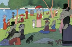 Sunday in the Park with Babar