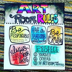 New classroom door art class rules 68 Ideas Art Class Rules, Art Class Posters, Art Room Rules, Art Rules, Room Art, Art Classroom Decor, Art Classroom Management, Classroom Posters, Classroom Door
