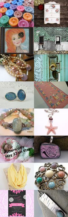 Pastels by Karyn on Etsy-- #handmade #lacwe #vintage #accessories #fineart #jewelry #photography #gifts