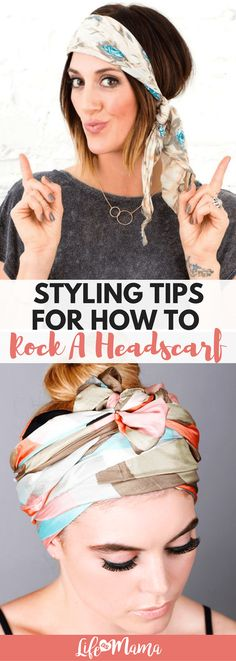 The headscarf is the new trend this summer. Read this for tips on wearing a styling headscarves with the best of them.