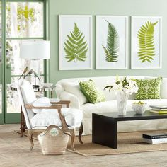 Fern prints, so easy to do.