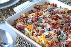 Cheesy Butternut Squash Pasta Bake from A Pretty Life