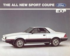 Curbside Classic: 1985 Ford EXP – Ford's Ugly Little Offering