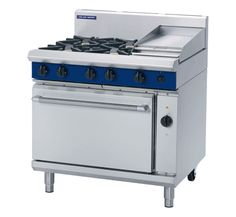 Blue Seal Evolution Series GE56C - 900mm Propane Gas Range Electric Convection Oven