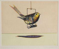 Wayne Thiebaud, 1980  Bird