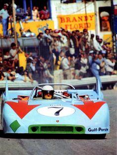 1971 Targa Florio. Porsche 908/3. Jo Siffert-Brian Redman