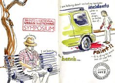 My People-Sketching Book: Text on Sketches