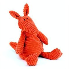 Plush Cordy Roys Orange Aardvark by Jelly Cat: Baby Nora has this one. #15.20 #Aardvark #Jelly_Cat