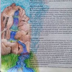 Water from the rock #exodus #biblejournaling #biblestudy #biblejournalingcommunity #bibleart #biblescripture #moses #artworship #art #documentedfaith #createdtocreate #womenoffaith #illustratedfaith http://ift.tt/1KAavV3