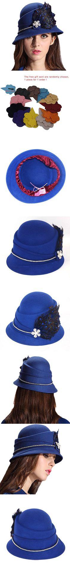 c0694a82182c0 Sakkas 104FL Sammy Structured Wool Fedora Hat - Black - One Size ...